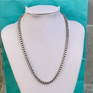Tiffany & Co. Venetian Box Link Necklace